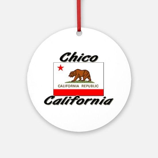 Chico California Ornament (Round)