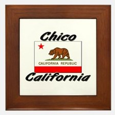 Chico California Framed Tile
