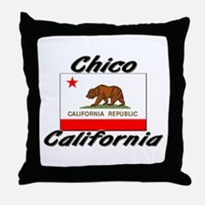Chico California Throw Pillow