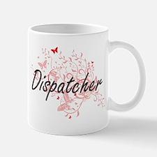 Dispatcher Artistic Job Design with Butterfli Mugs