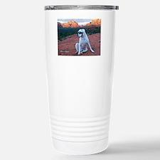 Cute Sedona arizona om aum red rocks Travel Mug
