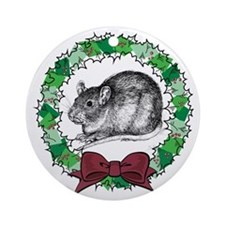 Benny Wreath Ornament (Round)