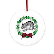 Benny Wreath Ornament (Round)