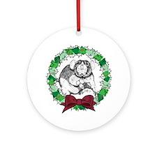 Dumbo Wreath Ornament (Round)