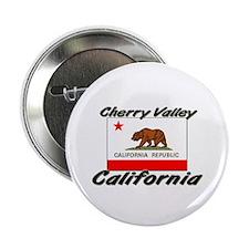 Cherry Valley California Button