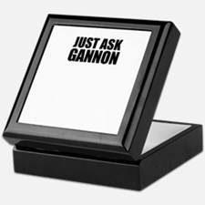 Just ask GANNON Keepsake Box