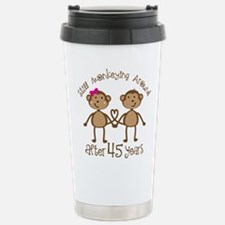 Cute Monkeying around Travel Mug
