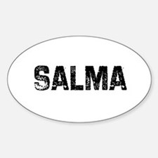 Salma Oval Decal