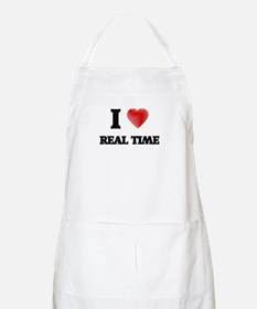 I Love Real Time Apron