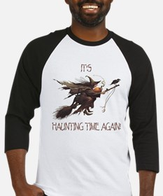 Witch haunting time Baseball Jersey