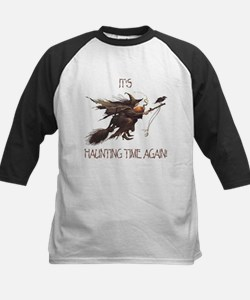 Witch haunting time Kids Baseball Jersey
