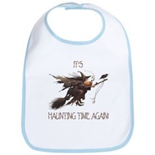 Witch haunting time Bib