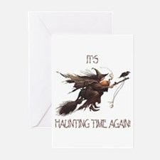 Witch haunting time Greeting Cards (Pk of 10)