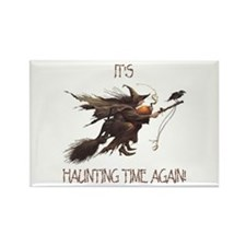 Witch haunting time Rectangle Magnet (10 pack)