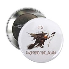Witch haunting time Button