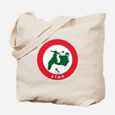 ciao Scooter Tote Bag