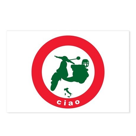 ciao Scooter Postcards (Package of 8)