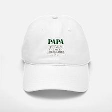 Papa Man Myth Soldier Cap