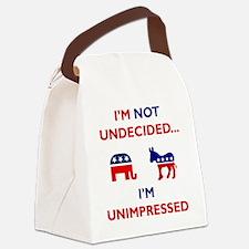 Unimpressed Canvas Lunch Bag