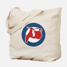 Brit Scooter Tote Bag