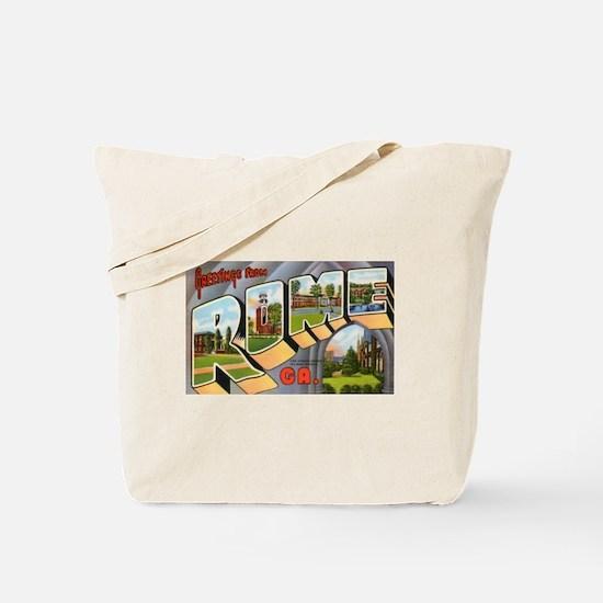 Rome Georgia Greetings Tote Bag