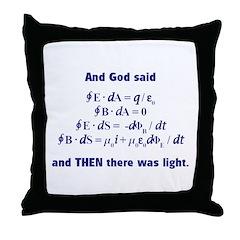 And God Said Throw Pillow