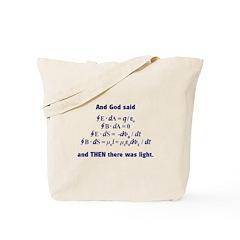 And God Said Tote Bag