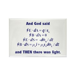 And God Said Rectangle Magnet (10 pack)