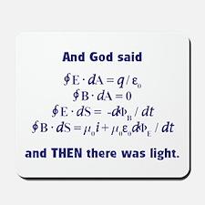 And God Said Mousepad