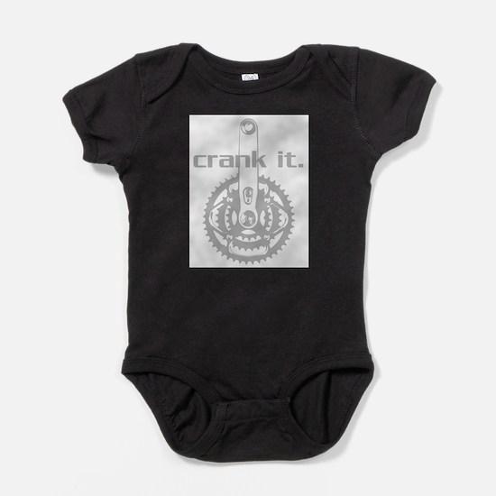 Unique Bicycle racing Baby Bodysuit