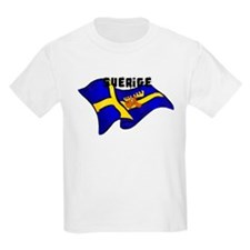 Swedish Moose Flag T-Shirt