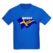 Swedish Moose Flag T