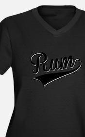 Rum, Retro, Plus Size T-Shirt