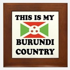 This Is My Burundi Country Framed Tile