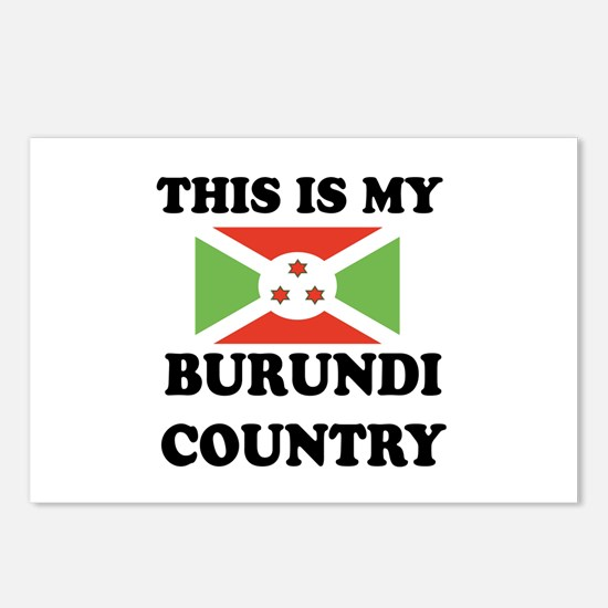 This Is My Burundi Countr Postcards (Package of 8)