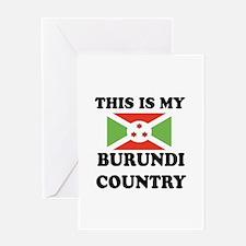 This Is My Burundi Country Greeting Card