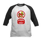 Staph Only Kids Baseball Jersey