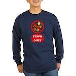 Staph Only Long Sleeve Dark T-Shirt
