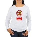 Staph Only Women's Long Sleeve T-Shirt