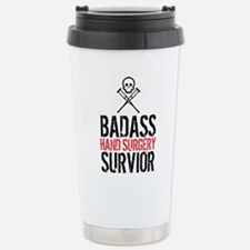 Badass Hand Surgery Sur Stainless Steel Travel Mug