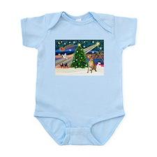 Xmas Magic & Gr Dane Infant Bodysuit