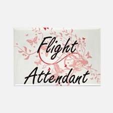 Flight Attendant Artistic Job Design with Magnets