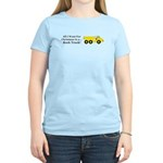 Christmas Rock Truck Women's Light T-Shirt
