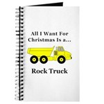 Christmas Rock Truck Journal