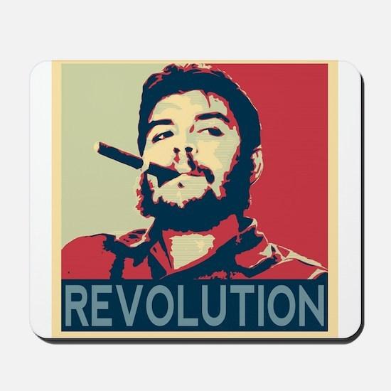 Che Guevara, hope poster square Mousepad