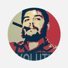 Che Guevara, hope poster square Round Ornament
