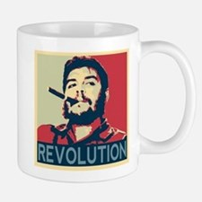 Che Guevara, hope poster square Mugs