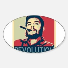 Che Guevara, hope poster square Decal