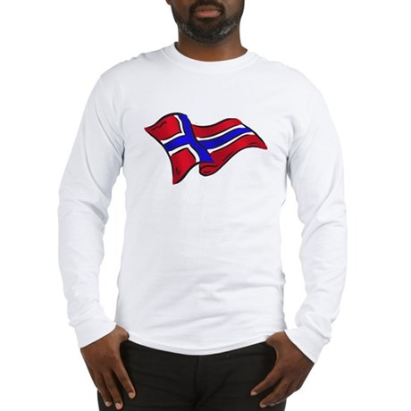 Norwegian flag of Norway Long Sleeve T-Shirt
