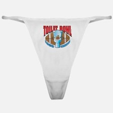 Fantasy Football Toilet Bowl Classic Thong